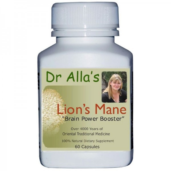 Lions Mane Mushrooms Natural Health Supplement By MediMushrooms