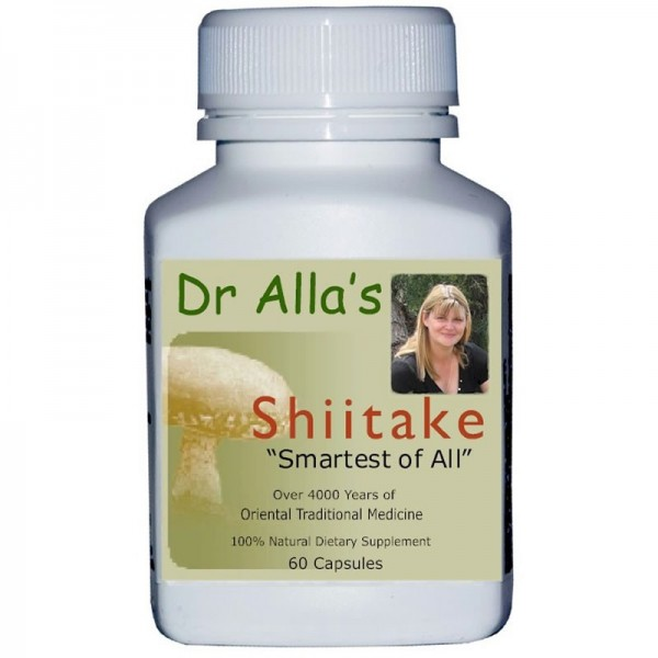 Shiitake Mushrooms Natural Health Supplement By MediMushrooms International Ltd In New Zealand